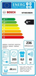 Bosch WTH85V88DN - Kondenstørretumbler