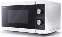 YC-MS01EW Sharp mikroovn 20L mekanisk hvid