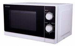 R200 WW Sharp mikroovn 20 liter hvid