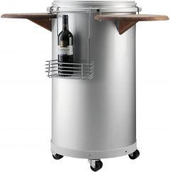 CC 45 Party Cooler Silver 45,4 x 82,5 cm
