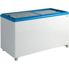 SD 451 Display fryser - Flad glaslåg