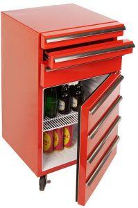 Cool Tool 503 Rød Værkstedskøleskab med 3 skuffer