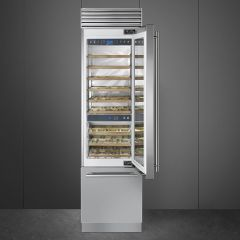 Smeg WF366RDX - Fritstående vinkøleskab