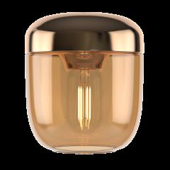 Acorn amber brass