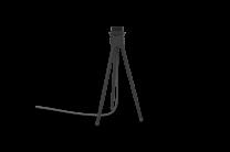 Tripod table black
