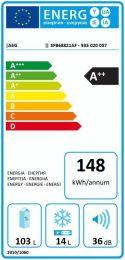 AEG SFB68821AF - Integrerbart køleskab