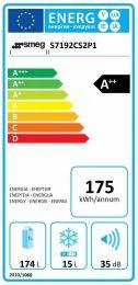 Smeg S7192CS2P1 - Integrerbart køleskab