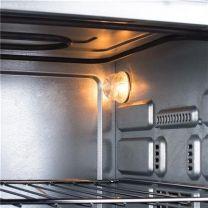 OV-1443 Tristar maxiovn med varmluft 38l 2 kogeplader